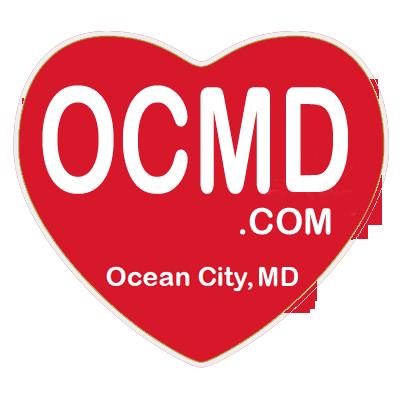 OCMD.com Heart Magnet